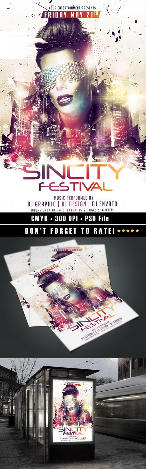 Sincity Festival by HDesign85