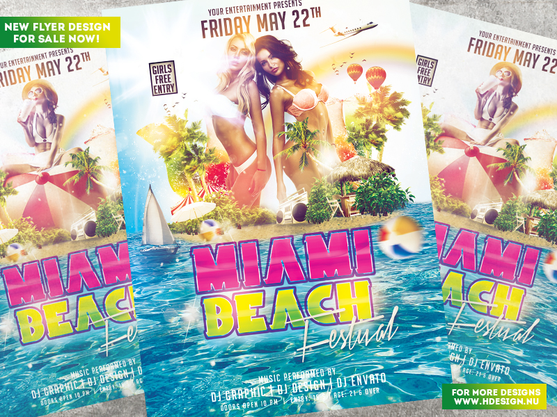 Miami Beach Festival by HDesign85
