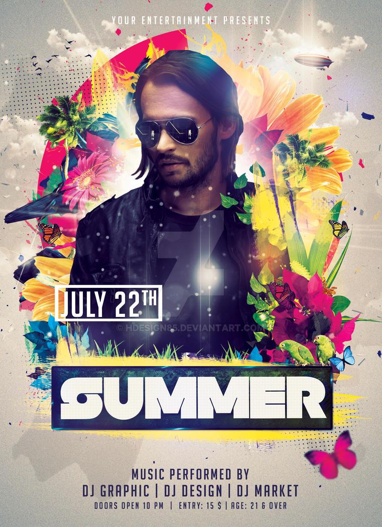 Summer Flyer by HDesign85