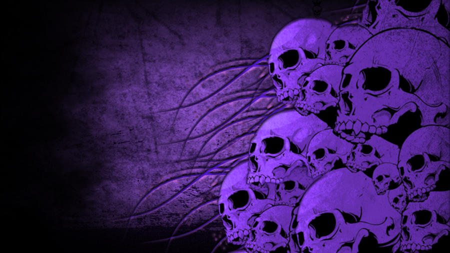 purple skulls by DKflfuffy on DeviantArt