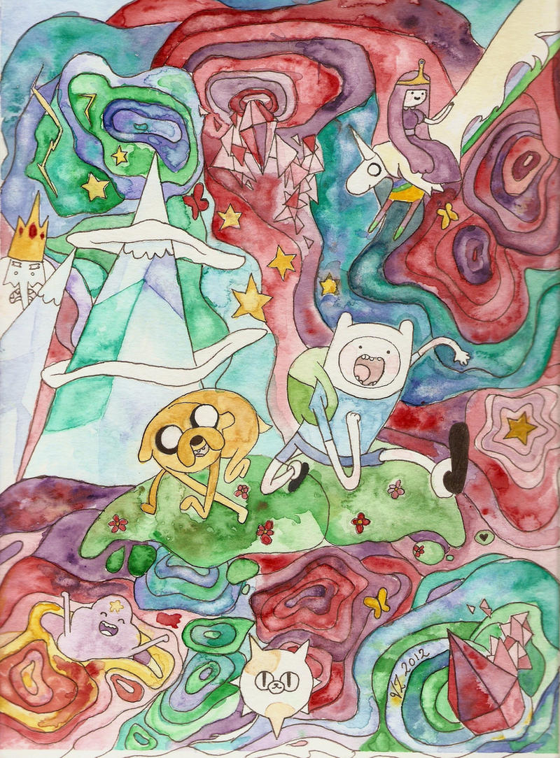 Adventure Time! by victoriaz