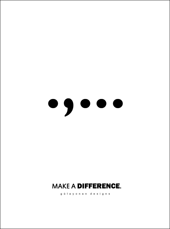 make a difference. by morgueprincess