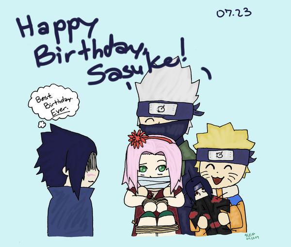 Sasuke Uchiha Cake Ideas And Designs