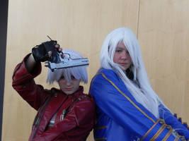 Dante and... Vergil...? oO by Yuli-chan