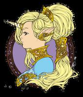Iridae colored by Yuli-chan