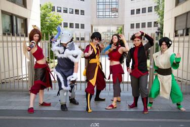 Team Avatar by Yuli-chan