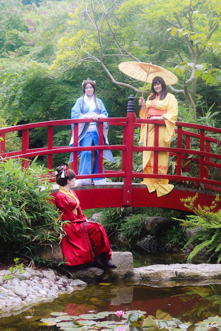 The Goddesses Trio by Yuli-chan