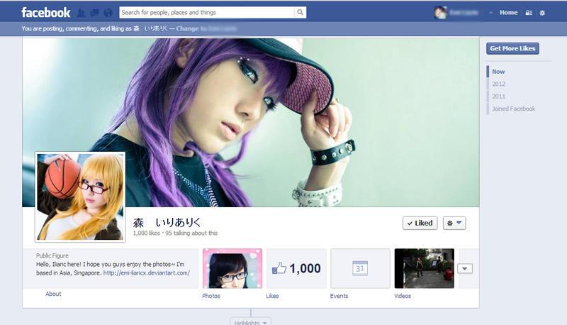 Finally! 1k Likes ~ by emi-liaricx