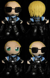 Plushie Albert Wesker by ThePlushieLady