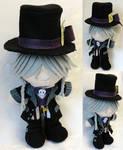Mini Plushie Mad Hatter Undertaker