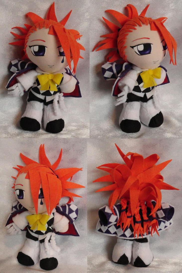 Mini Plushie, Joker by LadyoftheSeireitei