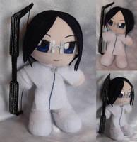 Commission, Mini Plushie Uryu Ishida by ThePlushieLady