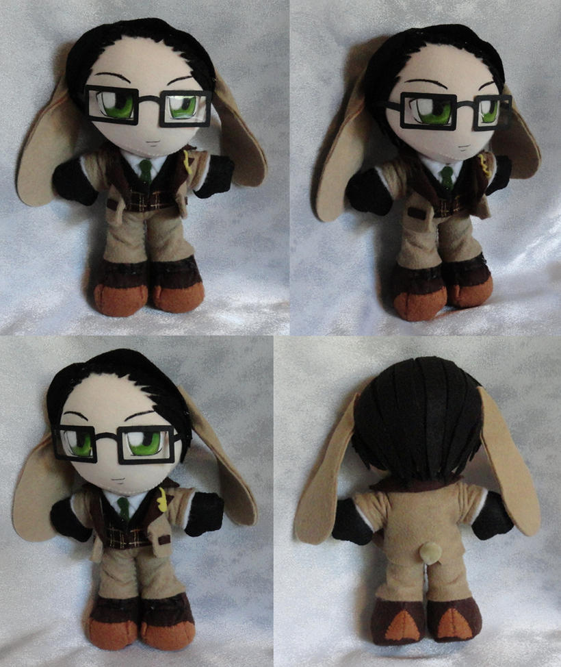 Mini Plushie March Hare William T. Spears by ThePlushieLady