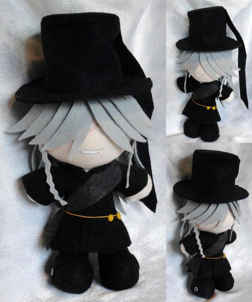 Mini Plushie, Undertaker by LadyoftheSeireitei