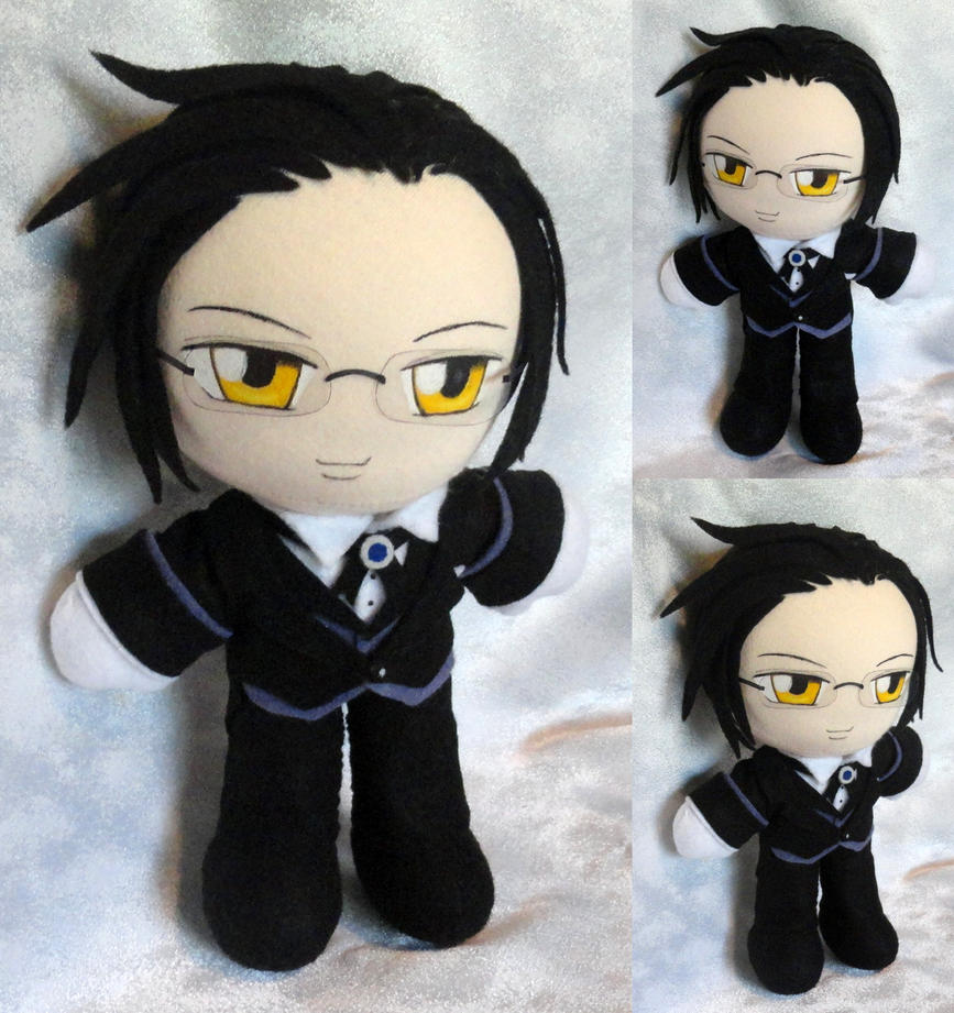 Commission, Plushie Claude Faustus by LadyoftheSeireitei