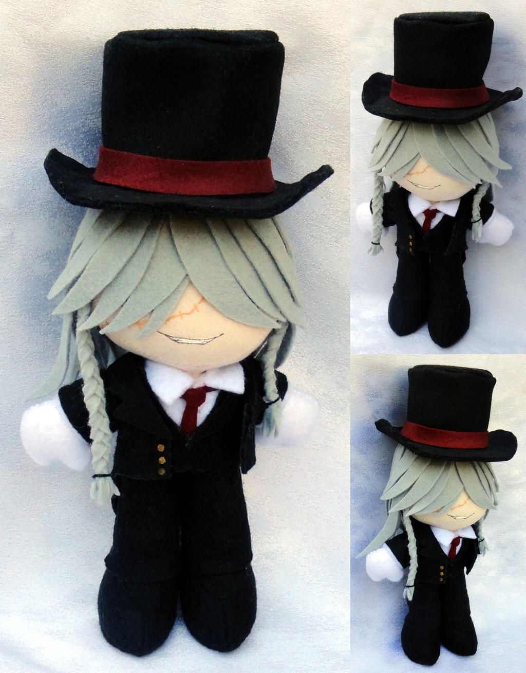 Mini Plushie, Weston Undertaker by ThePlushieLady