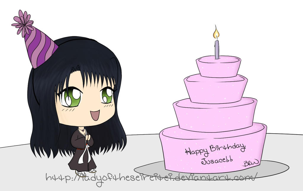 Chibi Birthday Wishes For Jusace By Theplushielady On Deviantart