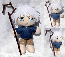 Commission, Mini Plushie Jack Frost by ThePlushieLady
