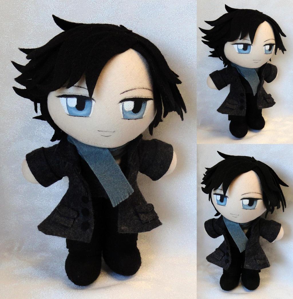Commission, Mini Plushie Sherlock Holmes