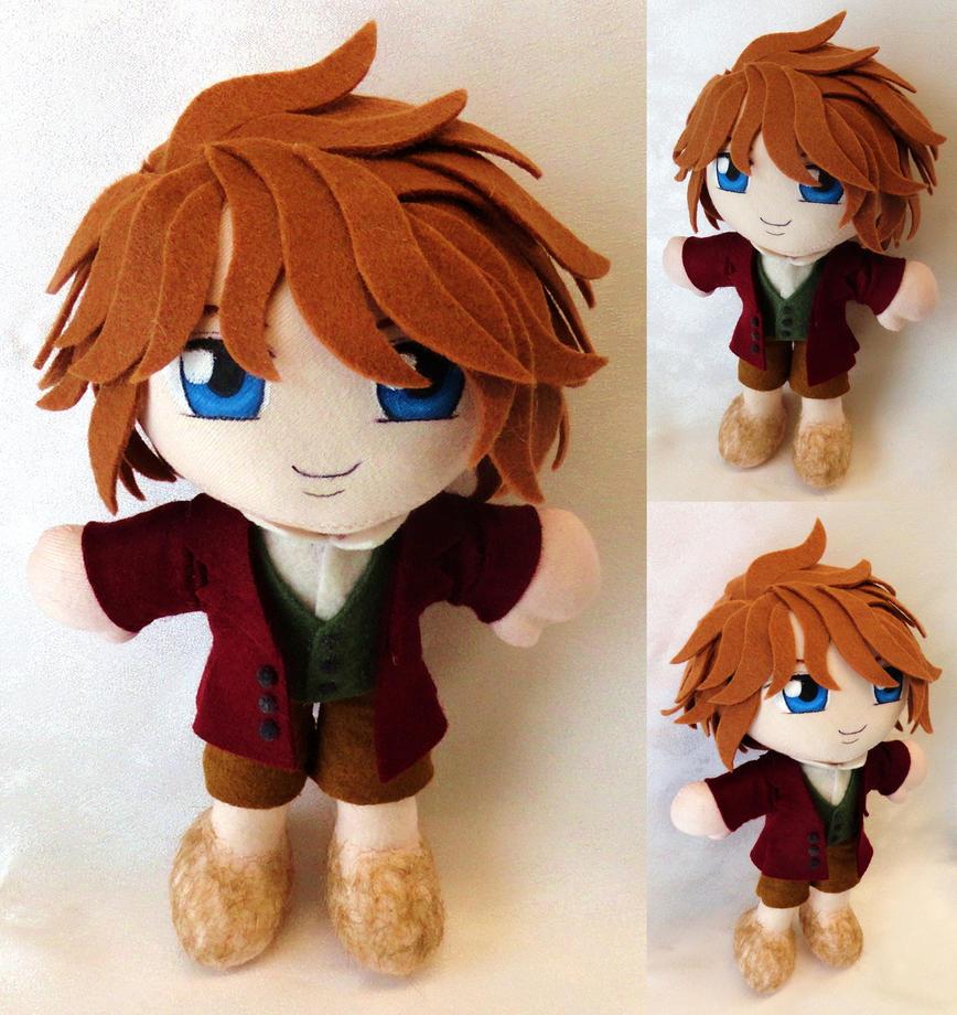 Commission, Mini Plushie Bilbo Baggins by LadyoftheSeireitei
