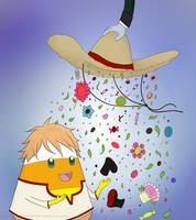 Kuroshitsuji Time! The Candy Corn Gardner by ThePlushieLady