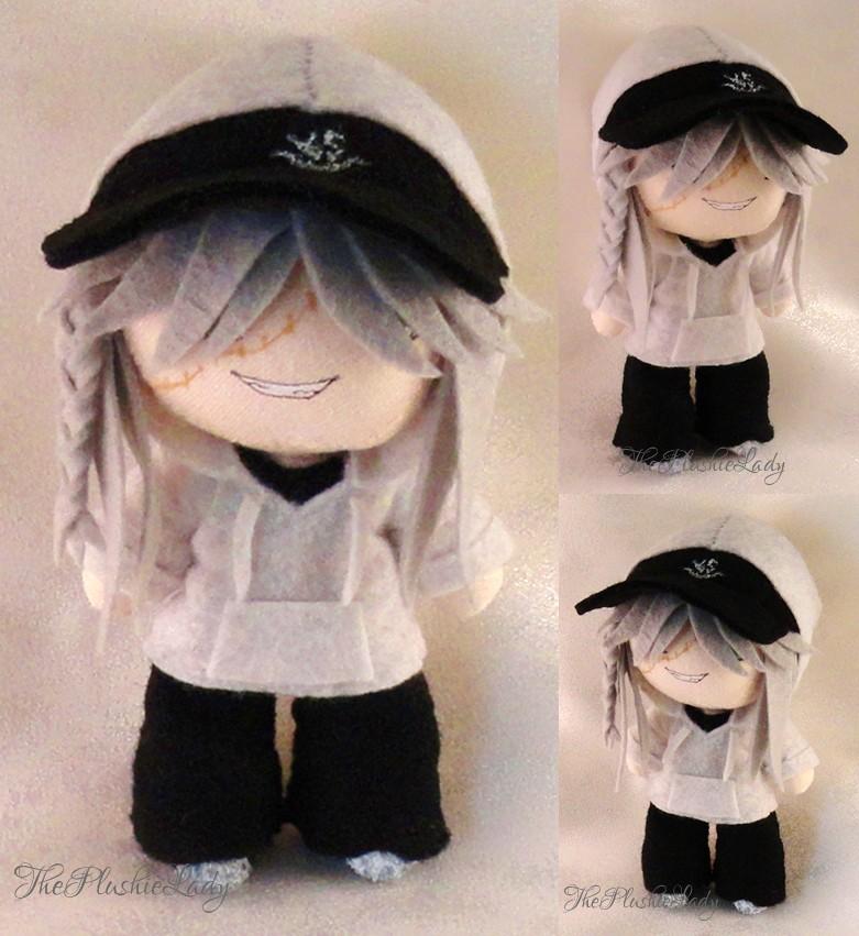 Prize!! Chibi Plushie Street Wear Undertaker by ThePlushieLady