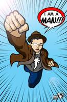 I am a man! by Chris-V981