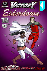 VICTORY/ EIDERDOWN #1 COVER