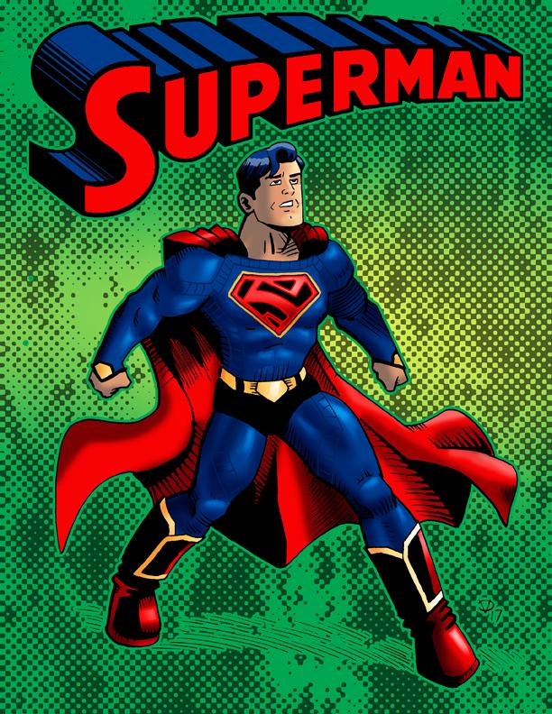 my superman 2017 by Chris-V981