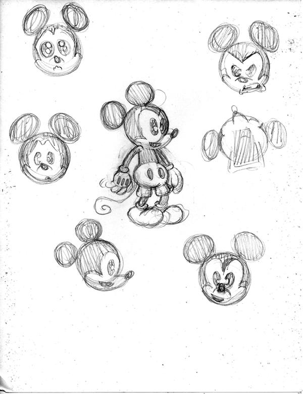 My Mickey Mouse sketch by Chris-V981