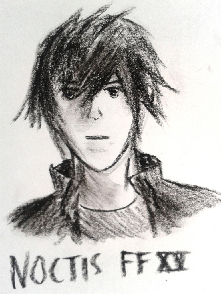 My Noctis drawing FFXV will always be one of the most