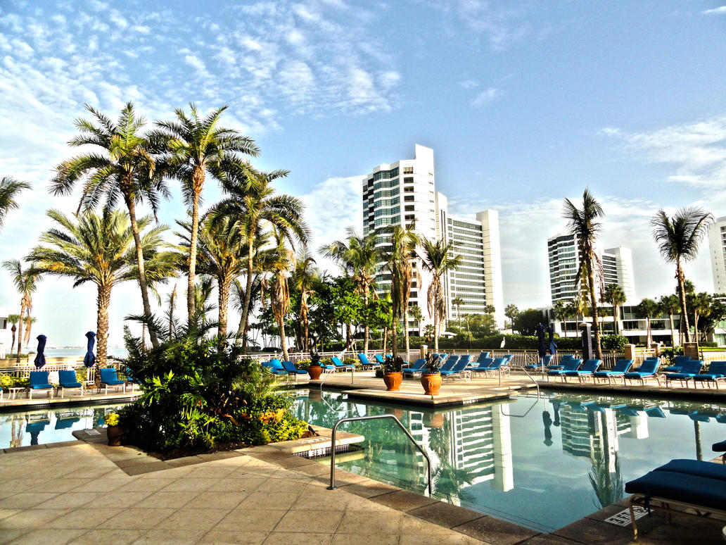 Ritz carlton pool hdr sarasota by johnamann on deviantart for Ritz carlton sarasota