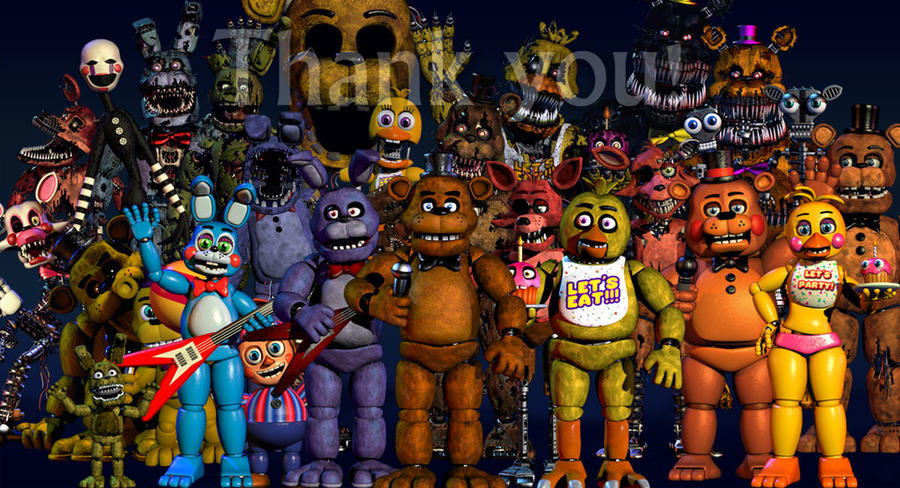 five nights at freddy's 5 !!!!! 2016 by centenomariaelena ...