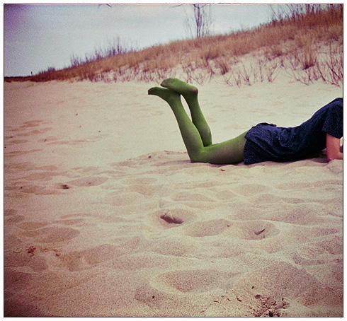 head in sand by Kan-n
