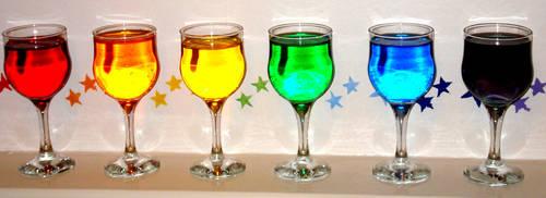Rainbow Glasses by Rosiiiiie