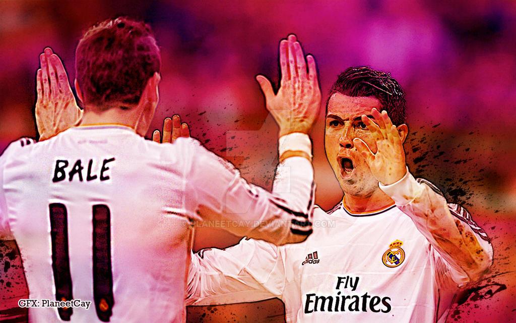 Ronaldo Bale Wallpaper By PlaneetCay
