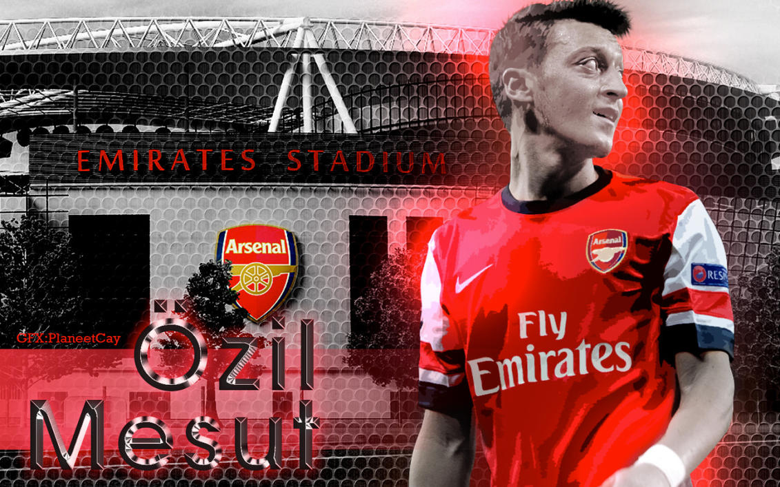 Mesut Ozil Wallpaper By PlaneetCay On DeviantArt