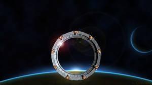 Stargate Space Wallpaper 1080p - No Logo
