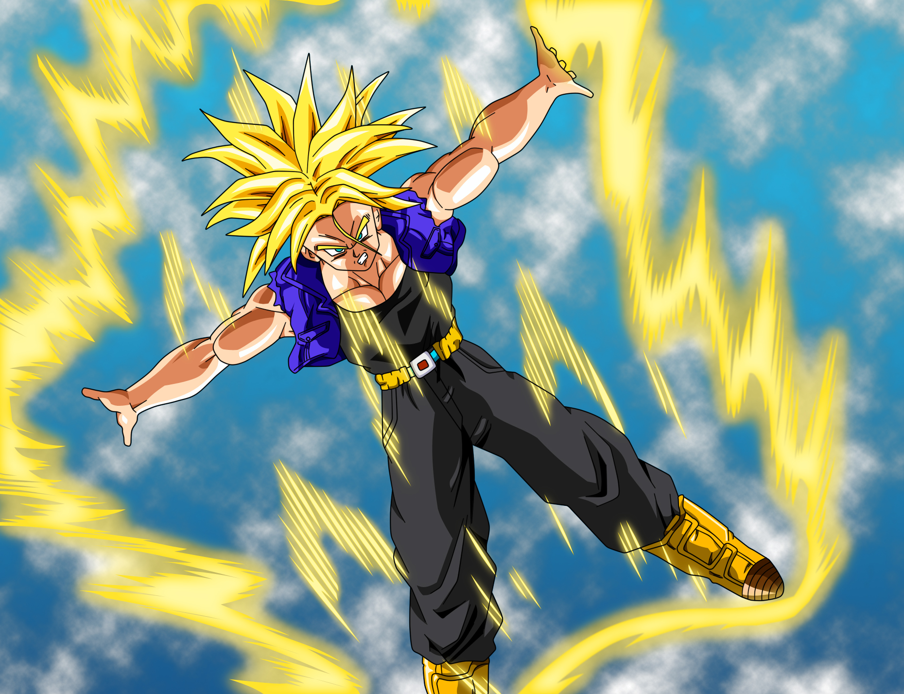 SSJ Trunks, Bojack Unbound by BoScha196 on DeviantArt