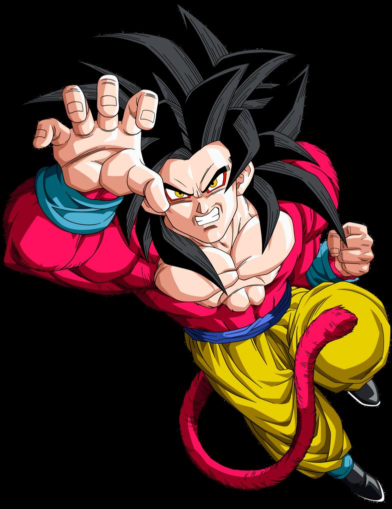 Goku SSJ4 by BoScha196