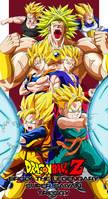 Dragon Ball Z: Broly Trilogy by BoScha196