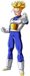 SSJ Future Trunks (Final Appearance) by BoScha196