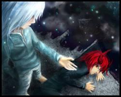good vs evil mercy by xRompKidx