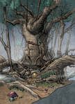 Badger S House   The Weirding Willows by ifan80