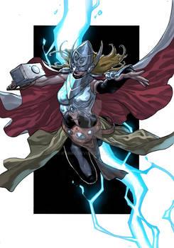 Female Thor fan art