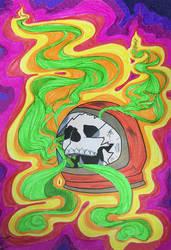 Marijuanaut by Paigeizzle