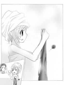 Doujin novel illustration 2