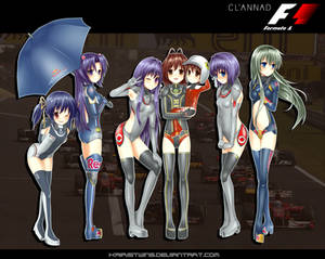 Clannad x F1