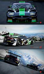 RSR Jaguar XKR GT2 Race car