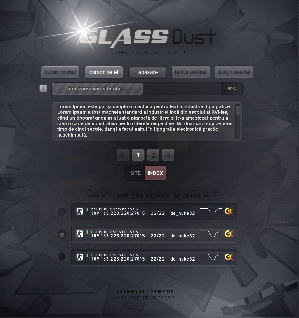 Glass-dust-index by eAndrei